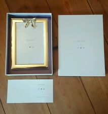 """Vera Wang 4"""" x 6"""" silver-plated photo frame christening gift brand new boxed"""
