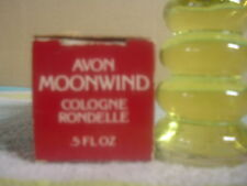 Vintage AVON Moonwind Cologne Rondelle .5 Fl. Oz. in its original box