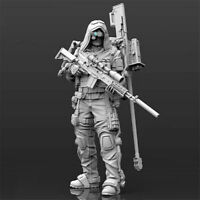 1/24 Mechanical warrior Bain Resin Kits Unpainted Figure Model GK Unassembled