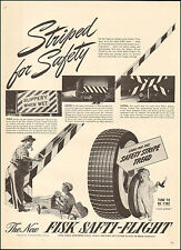 1943 Vintage ad for Fisk Tires`Little Boy Candle Art Safety  (031517)