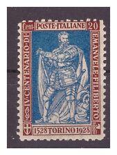 REGNO 1928 - EMANUELE FILIBERTO Cent 20  Dent 11   Nuovo **