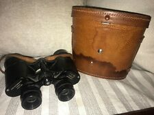 Gramercy 7x35 Binoculars Field 65 Degrees Deluxe Coated Lenses w/ Leather Case