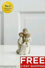 """WILLOW TREE """"QUIETLY"""" HOME DECOR ROOM SCULPTURE MOTHERS DAY GIFT MOM WIFE CHILD"""