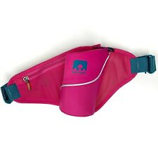 Nathan Triangle Insulated Hydration Waist Pak Belt Pink Hiking Walking Running