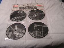 """The Beatles Limited Edition 4-7""""  Black & White Picture Discs INTERVIEW COLLEC"""