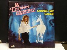 CALINE La derniere licorne 883544 7 BO dessin animé