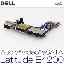 Dell Latitude e4200 pp15s jaz00 ls-4291p eSATA Audio Video Vga Board 0d537f