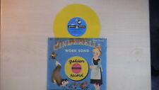 Walt Disney's CINDERELLA Work Song Golden Record 78rpm 1950