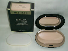 Ultima II Beautiful Nutrient Nourishing Pressed Powder LIGHT .32 oz New RARE
