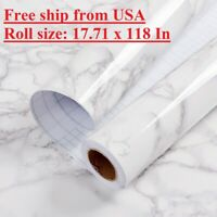 Marble Granite Wallpaper Self Adhesive Contact Paper Vinyl Kitchen Countertop