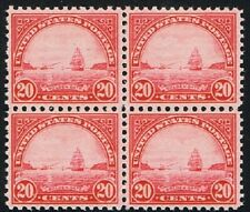 U S #698 Golden Gate issue of 1931 Block-4   Unused, NH. O.G. CV. $50.00