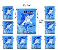 1 PAIR BIRTHDAY Gift BABY SHARK SOCKS .Daddy//Papa//Uncle//Grandad GRANDPA Ect