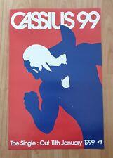Cassius 99 Promo Poster Ultra Rare