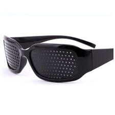 Black Regulating Improved Vision Eye Care Rraining Sports Glasses Pinhole US