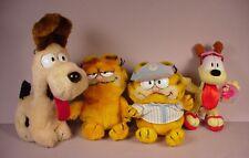 Vintage Dakin Garfield Cat Stuffed toys & Odie plush doll  1981-1982 originals