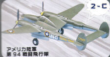 F-Toys 602524-2-C Propellerflugzeug P-38G Lighting 1/144