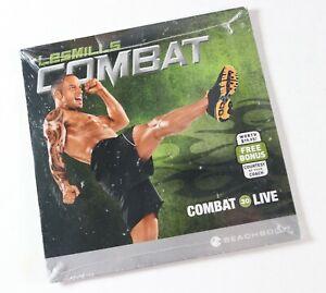 Brand New - Lesmills Combat 30 Live DVD Beachbody Fitness Workout