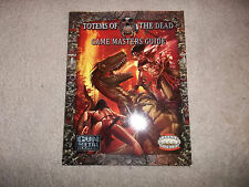 Savage Worlds RPG Totems of the Dead Game Master's Guide