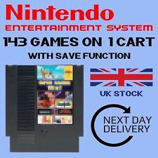 143 en 1 juegos para NES. función de ahorro. entrega al día siguiente. PAL/NTSC