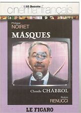 DVD MASQUES philippe noiret claude chabrol COLLECTION FIGARO