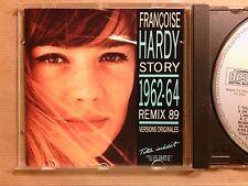 RARE CD / FRANCOISE HARDY STORY / 1962-64 / REMIX 1989 / TRES BON ETAT