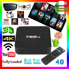 T95M Android 6.0 AMLOGIC S905 1GB 8GB WIFI KODI SMART TV BOX 4K IPTV Decoder