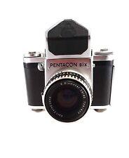 Vintage PENTACON six TL 6x6 SLR Camera Prism Finder Carl Zeiss f2,8/80mm Lens