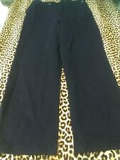 Rare 1940s Sailor Pants~Naval French Armed Forces~Dated 1949~Navy Blue Wool~W:36