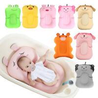 Newborn Bath Pad Safety Shower Baby Bathtub Mat Non-Slip Floating Seat Cushion