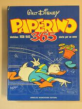 Paperino 365 sketches 1936 - 1945 storie per un anno Walt Disney Mondadori 1975