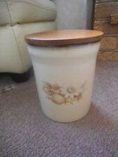 Decorative Denby Stoneware Jars