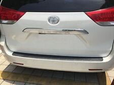 fit 2011-18 Toyota Sienna L LE XLE SE Limited Chrome Rear Trunk Lid Molding Trim