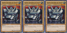 3x Yugioh YSYR-EN003 Giant Soldier of Stone Common Card