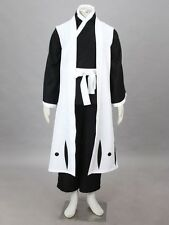 Death Bleach Kuchiki Byakuya Cosplay Costume Cartoon Character Halloween Suit M