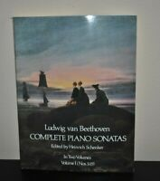 Dover Music for Piano: Complete Piano Sonatas Vol. 1 by Ludwig van Beethoven (19