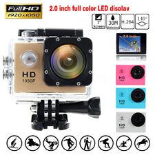 Étanche SJ4000 Sport Vidéo FHD 1080P 30fps Action Caméra Caméscope Cam DV DVR