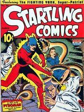 Startling Comics #20 Photocopy Comic Book, Captain Future, Fighting Yank