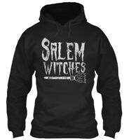 Salem Witches Halloween Costume S - Srlem Gildan Hoodie Sweatshirt