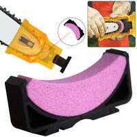 KE_ Woodworking Chainsaw Teeth Chain Saw Sharpener Sharpening Stone Grinding T