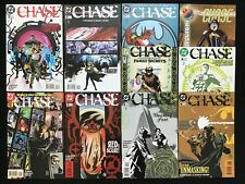 CHASE Lot of 10 DC Comic Books - Complete Set #1-9 & 1,000,000 - High Grade!