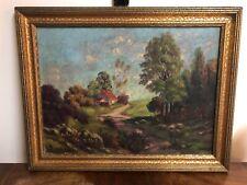 New ListingPaul Woronoff Homestead Landscape 12X16 Oil Painting
