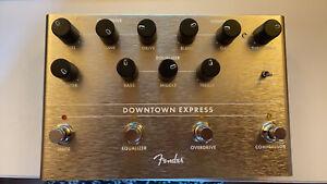 Fender Downtown Express Bass Preamp DI Pedal