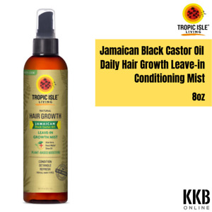 Jamaican Black Castor Oil Daily Hair Growth Leave-in Conditioning Mist-237ml 8oz