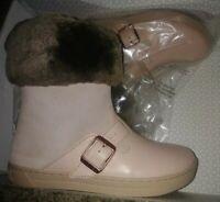 Birkenstock Kids Stirling Leather Boots Rose/Copper 29 Boston clog boots