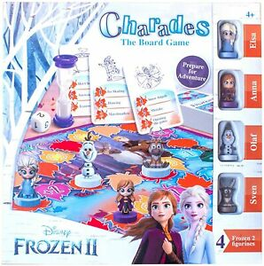 NEW OFFICIAL DISNEY FROZEN 2 CHARADES FAMILY BOARD GAME