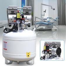 40l Air Compressor Air Inflator Car Tire Pump Electric Portable Oil Free 115 Psi