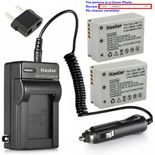 Kastar Battery Normal Charger for Canon NB-7L NB7L PowerShot G10 G11 G12 SX30IS