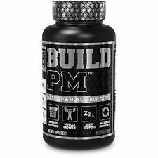Build PM Night Time Muscle Builder & Sleep Aid - Post Workout Recovery & Sleep S