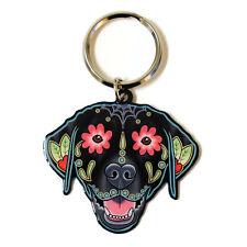 Labrador Dog Metal Key Ring Keyring Cali Pretty in Ink