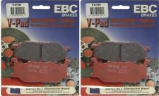 EBC V-Pad Front Brake Pads (2 Sets) 2000-03 Yamaha XV1600  Road Star Midnight